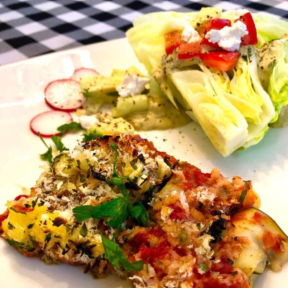Best vegan zucchini ravioli