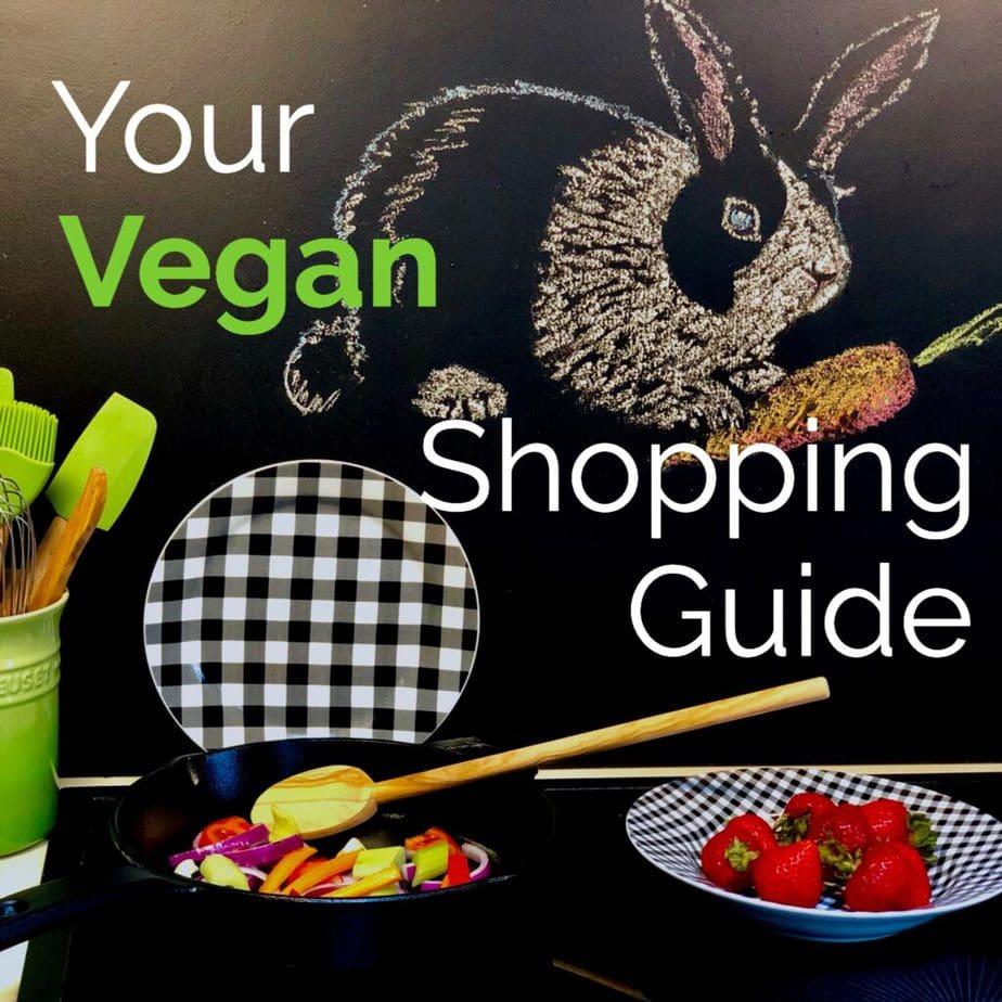 your vegan shopping guide