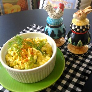 Vegan Eggless Egg Salad