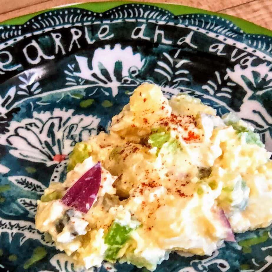 Grandma's Vegan Potato Salad