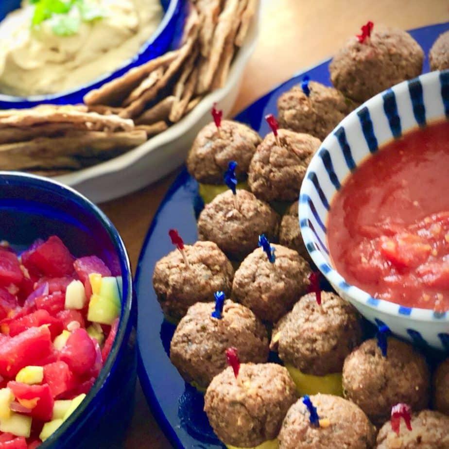 Best vegan meatless meatballs