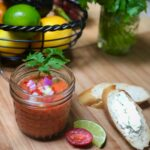 Gazpacho vegan cold soup