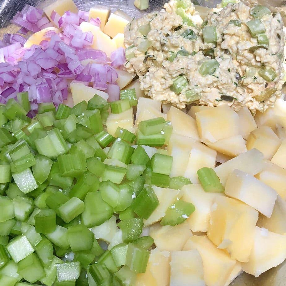 vegan potato salad ingredients