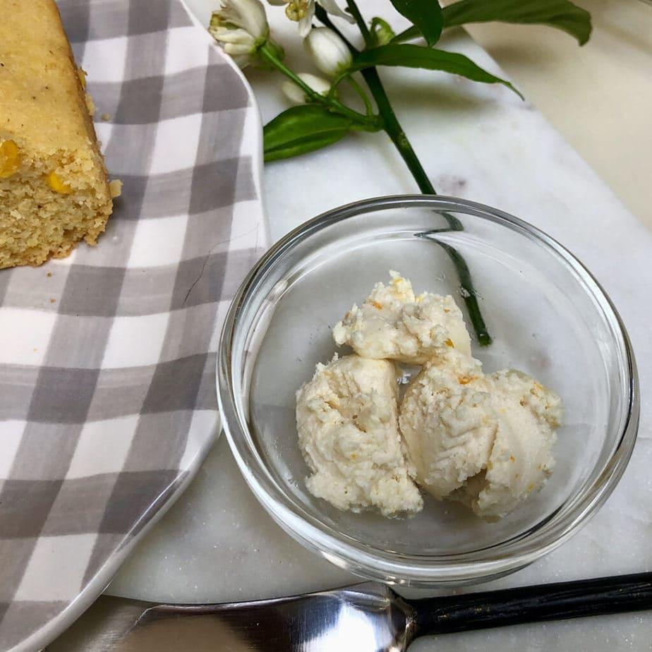 maple orange vegan butter