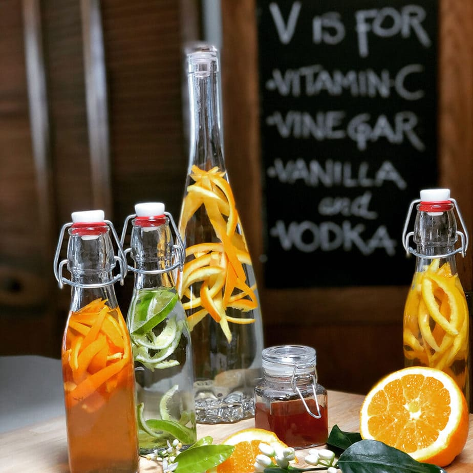 citrus infused vinegars and extracts