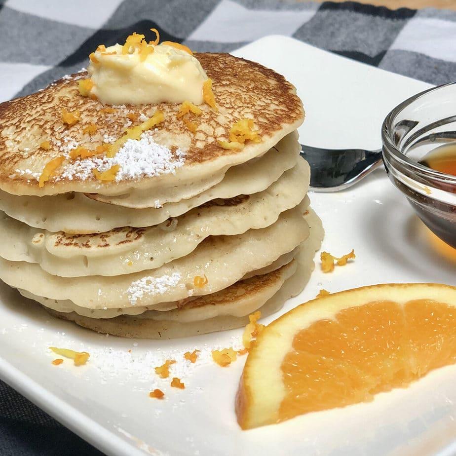 simply perfect vegan pancakes