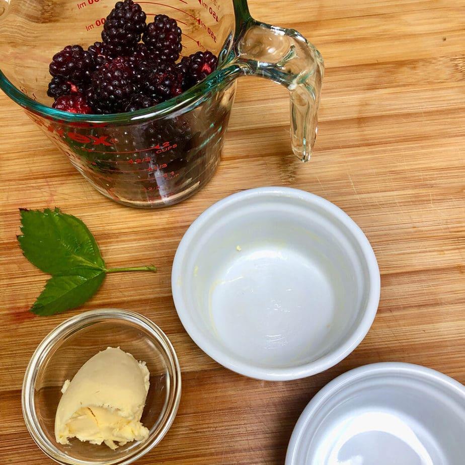 ramekins for berry cobbler