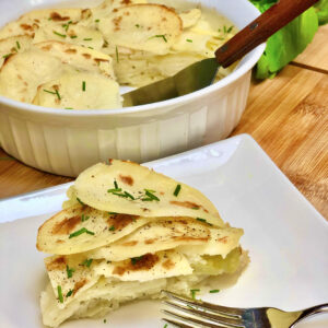 easy vegan scalloped potatoes
