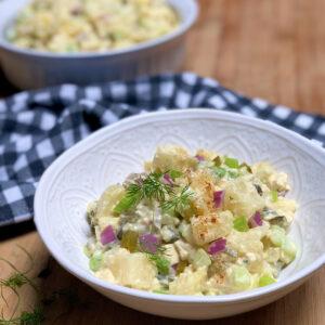 best old fashioned vegan potato salad